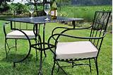 Wrought Iron Garden Furniture