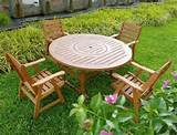 the right wooden garden furniture to create great outdoor garden space