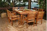why wooden garden furniture are top of the line