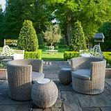 Elegant rattan garden furniture | Traditional gardens | Garden design ...