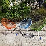 Colourful garden chairs | Garden furniture | image