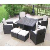 value accessory store rattan wicker garden furniture table 4 chair