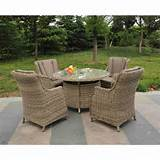 Garden Furniture Wicker Rattan Garden Furniture 4 Seater Rattan Garden ...