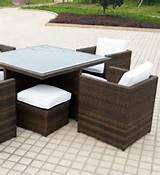 types of rattan garden furniture