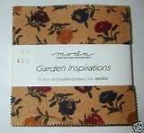 moda fabric garden inspirations charm pack
