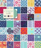 CUZCO by Kate Spain - Moda Fabric Charm Pack - Five Inch Quilt Squares ...