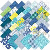 Moda Sphere Charm Pack, Set of 42 5-inch (12.7cm) Precut Cotton Fabric ...