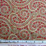 Moda Fabric Romantic Flower Paisley, Stone Quilt Material Vin De Jour ...
