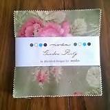 Moda quilting fabric Garden party charm pack by black bird designs ...