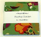 Moda Rooftop Garden Charm Pack by Moda Fabrics roof top