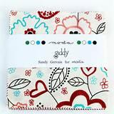 Home -> Fabrics -> Moda -> Giddy ->Moda Giddy Charm Pack