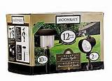 moonrays solar garden lights 12 lights