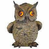 garden lights moonrays 91257 8 inch owl solar garden light