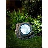 new led solar powered outdoor rock lights ideal for patio garden