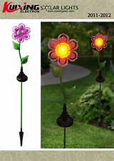 decorative solar garden light ca1345a