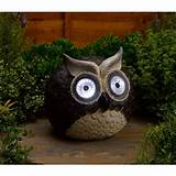 solar decorative solar owl garden light smart solar decorative solar