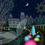 atlanta botanical garden garden lights holiday nights in marietta