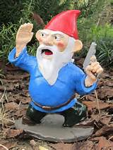 ... lawn than Zombie Garden Gnomes, these incredible Combat Garden Gnomes