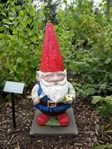Garden Gnome : Originating in Germany, the garden gnome are statuaries ...