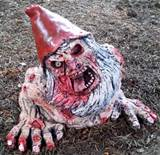 zombie garden gnome patient z7 nr 03 by doodd