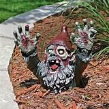 gnombie undead zombie garden gnome