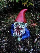 Zombie Garden Gnome. Love.