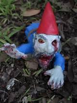 Zombie garden gnomes :)