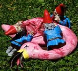Zombie garden gnomes from Bye Bye Birdie
