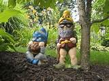 freakish garden gnomes and other wacky garden wares