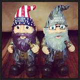 Duck Dynasty Garden Gnomes Willie and Si;)