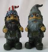 Duck Dynasty Garden Gnome Willie Si Lot Set Gnomes New NIB Buck ...