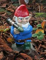 Combat Garden Gnome with Rocket Launcher