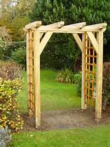 You are here: Home → Our Work → Traditional Garden Oak Arch