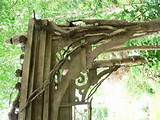 build a garden arch from salvaged wood oregonlive latest garden