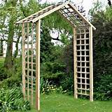 home garden structures the atlas garden arch