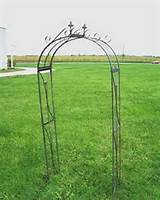decorating your garden with metal garden trellis metal garden arches