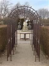 Pergola Arch Metal Trellis