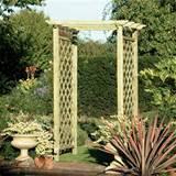 Garden Arch With Gates
