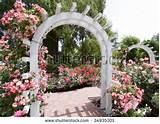 White Garden Arch.