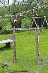 diy wooden garden arch diy garden