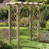pergola arch wooden garden arches 1 jpg