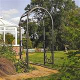 Wrenbury Round Top Metal Garden Arch
