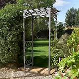 Wrenbury Square Top Metal Garden Arch