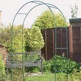 Metal Garden Arches - garden arches metal ideas