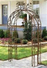 Bird Iron Garden Arch