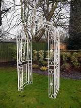 Garden Furniture Garden Arch Cream Arch Trellis Arch Garden Arches ...