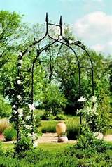 Details about New Black Metal Gothic Garden & Rose Arch Archway