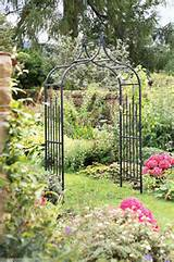 Elagant Metal Garden Arch / Garden Archway | eBay