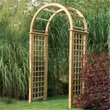 forest garden florence trellis garden arch