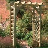 pergola arch wooden garden arches jpg